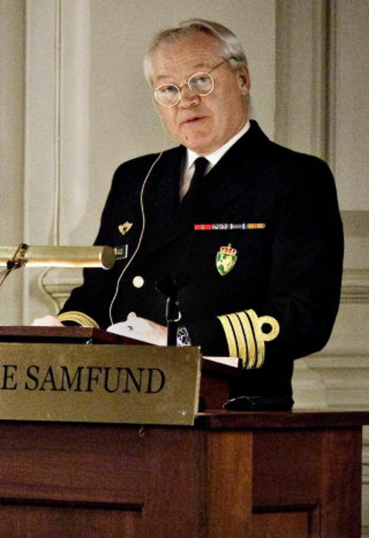 GÅR AV: Kommandør Geir Gade, sjef i Forsvarets sikkerhetstjeneste FOST, går snart av som leder i den omstride avdelingen. Her er han i Oslo Militære samfund. Foto: Mette Møller / Dagbladet