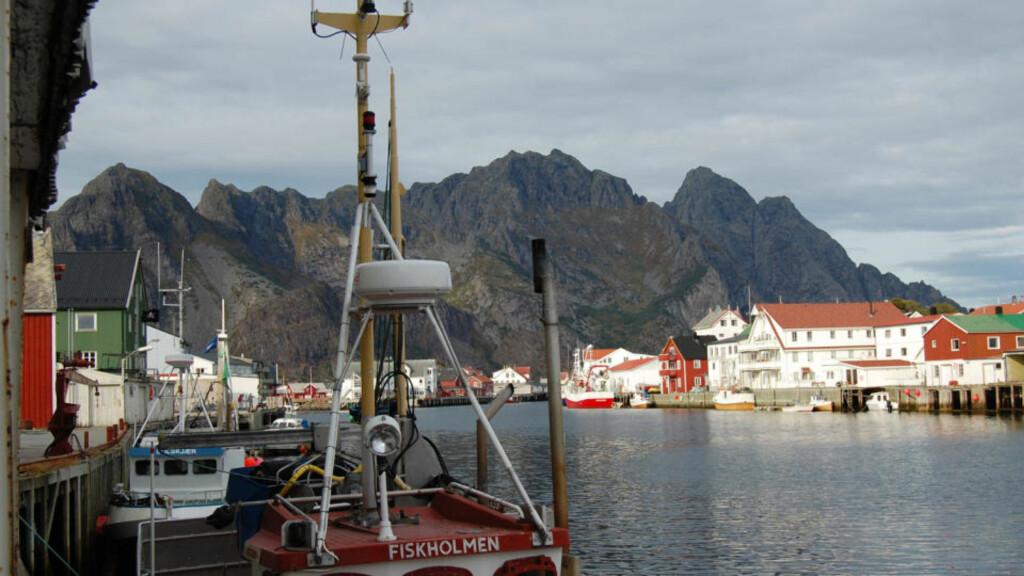 RAPPORT I DAG: Rapporten om Lofoten og Vesterålen kommer i dag. Her fra Henningsvær. Foto: AFP/ SCANPIX.