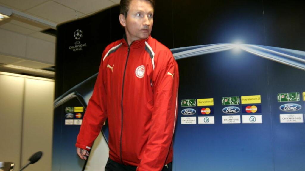 ÅPEN FOR ALT: Trond Sollied tror han var nær ved å bli Elfenbenskyst-trener. Nå venter han på nye tilbud. Foto: Tom E. Østhuus, Dagbladet.