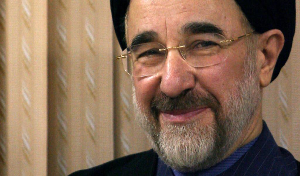 NEKTES UTREISE: Mohammad Khatami