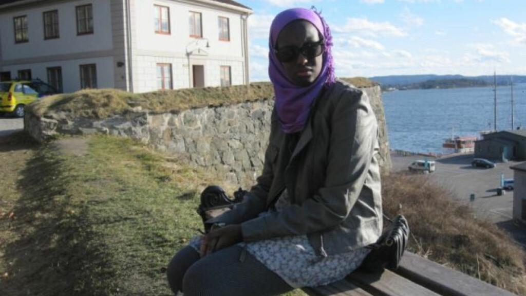 MÅNEDENS POET: Muna Jibril gikk til topps i mars også, med et dikt inspirert av Alexandrias gamle —og delvis tapte — visdom.
