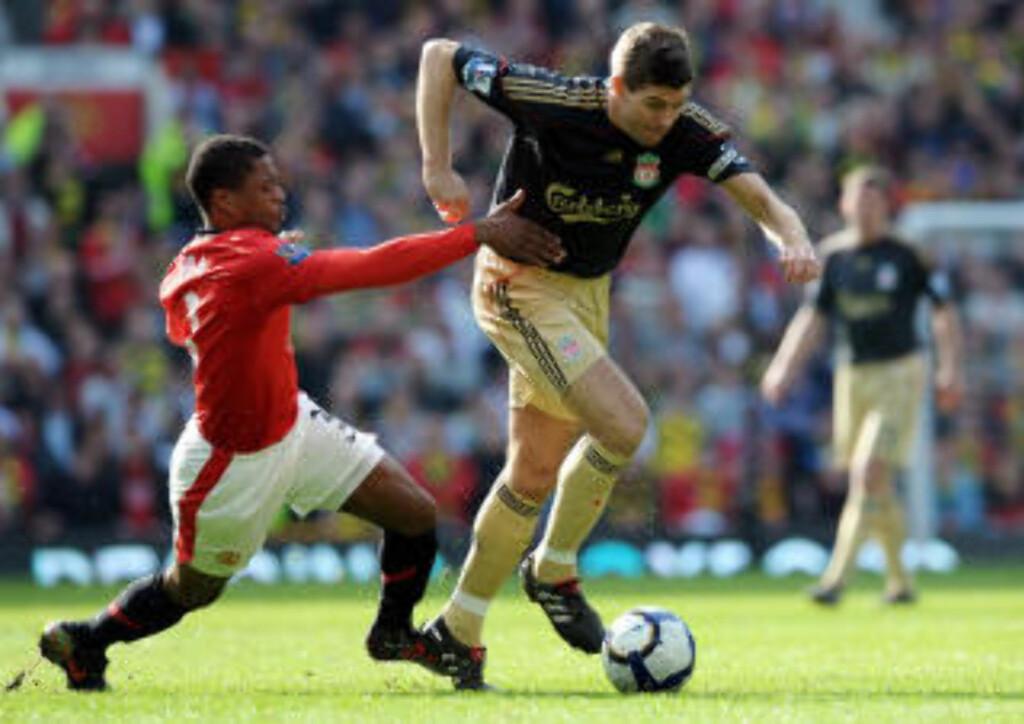 FOR GODE: Gerrard kommer med en sjelden innrømmelse om United i dag. Foto: AFP/PAUL ELLIS