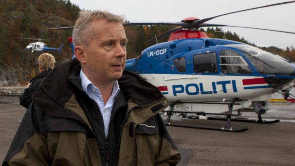 AVLYSER PRESSEKONFERANSE: Justisminister Knut Storberget.  FOTO: TORBJØRN BERG / DAGBLADET