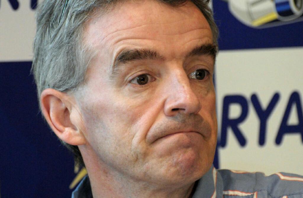 SNUR:  Michael O'Learys Ryanair vil likevel følge EU-reglene og dekke utgiftene til strandede passasjerer. Foto: Scanpix