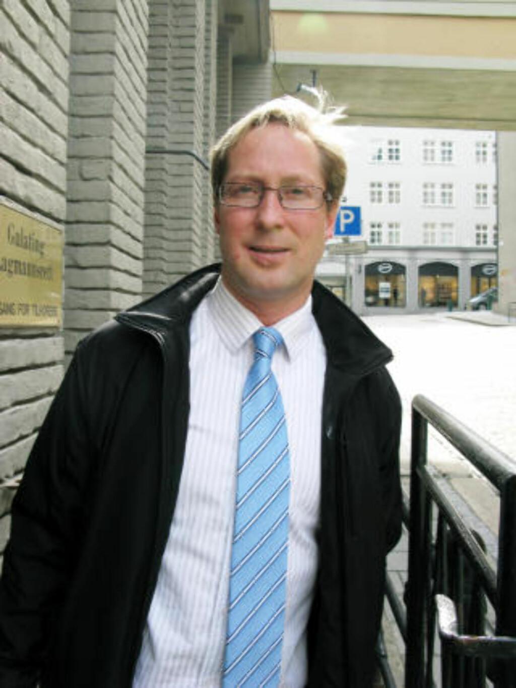 POLITIADVOKAT: Rudolf Christoffersen. Foto: Leif Stang