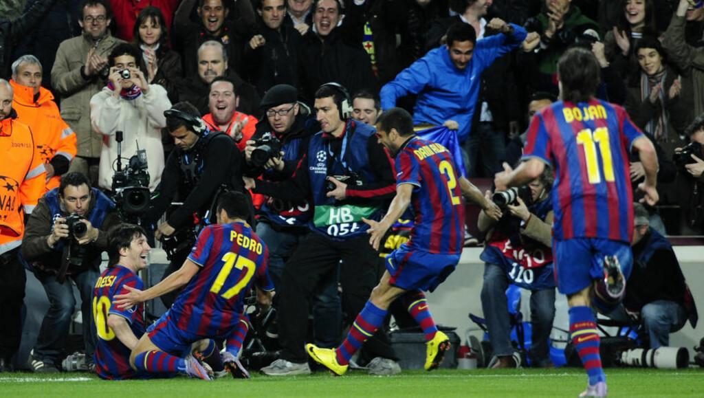IMPONERTE DRILLO: Lionel Messi og Barcelonas nedsabling av Arsenal fikk fram gliset hos Drillo. FOto: AP/Manu Fernandez