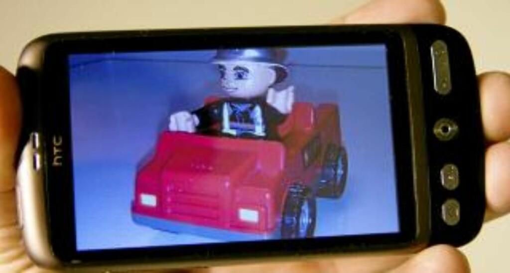 GODT KAMERA: Til mobilbruk fungerer kameraet på HTC Desire godt. Foto: Hallvard Lunde