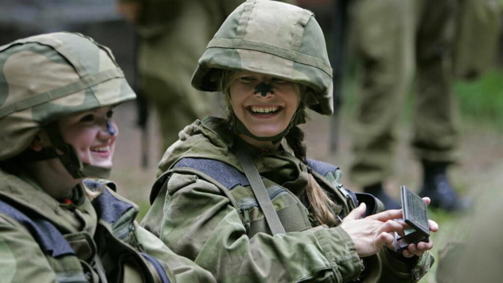 VERNEPLIKTIGE: Tillitsmannsordningen ønsker seg normal lønn i forsvaret. Arkivfoto: ERLING HÆGELAND/Dagbladet