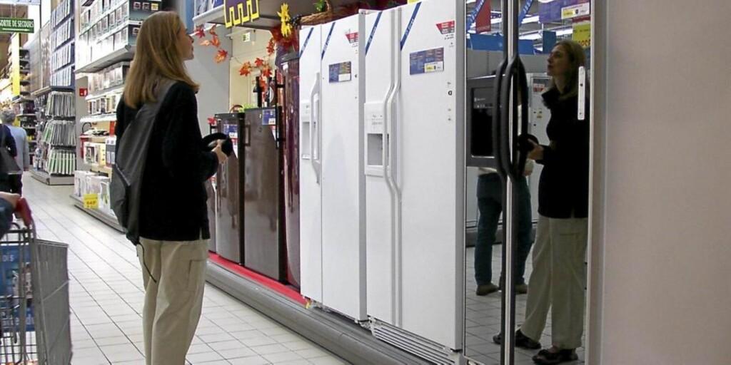 REKLAMASJON: Du kan klage på feil ved kjøleskapet ditt i inntil 5 år. Mange tror det bare er to. FOTO: Colourbox