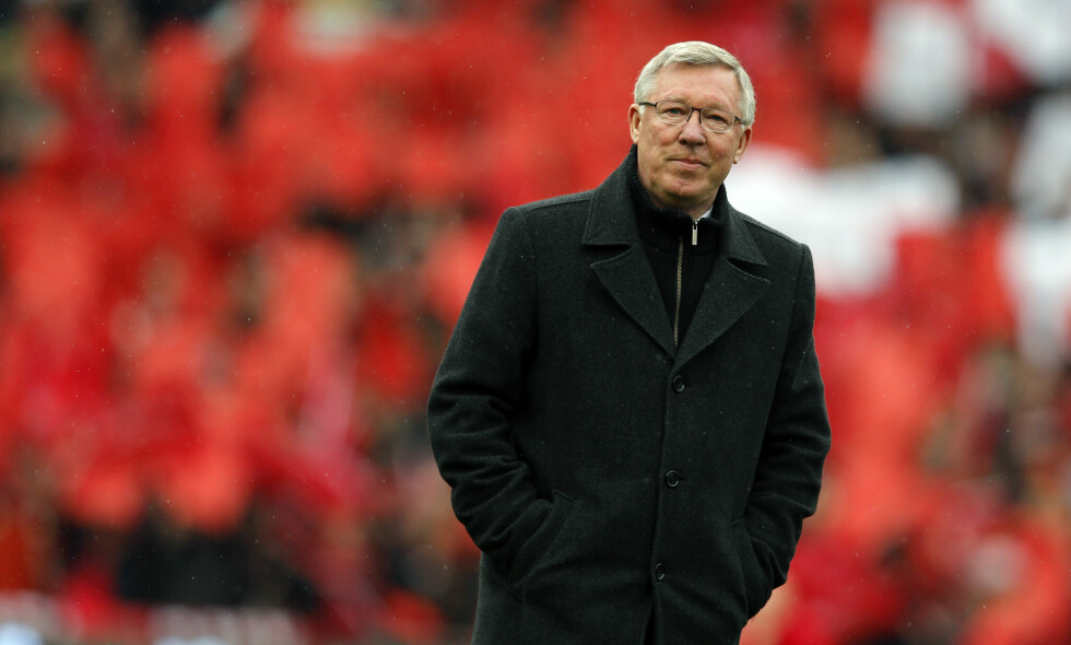 LEGENDEN: Sir Alex Ferguson. Foto: REUTERS/Phil Noble