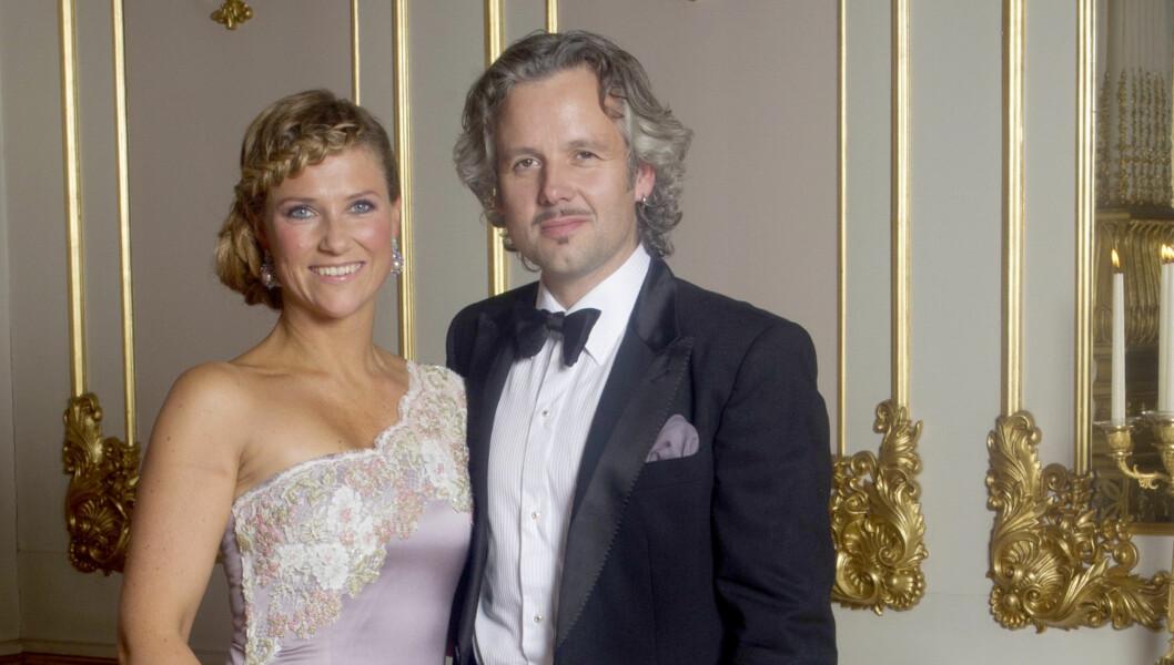 PÅ FLYTTEFOT: Prinsesse Märtha og Ari Behn. Foto: Stella Pictures