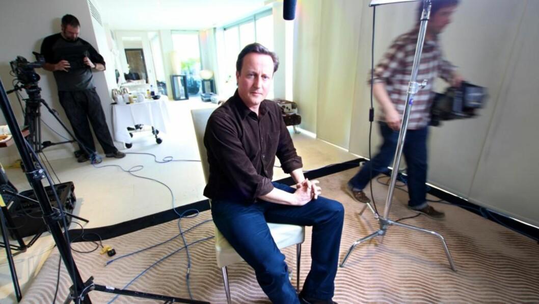 <strong>LISAS EGET BILDE:</strong>  David Cameron blir britenes yngste statminister siden 1812. Foto: Lisa Keane