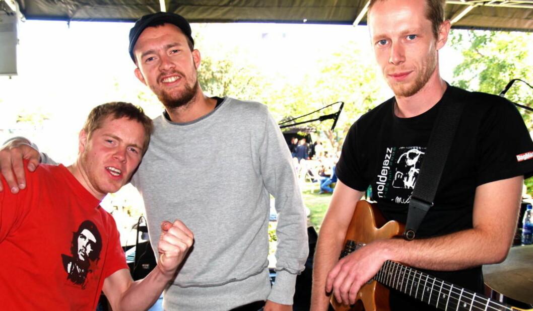 <strong>PUMA:</strong> Øystein Moen (f.v.), Gard Nilssen og dobbeltplateaktuelle Stian Westerhus. Foto: Terje Mosnes/Dagbladet