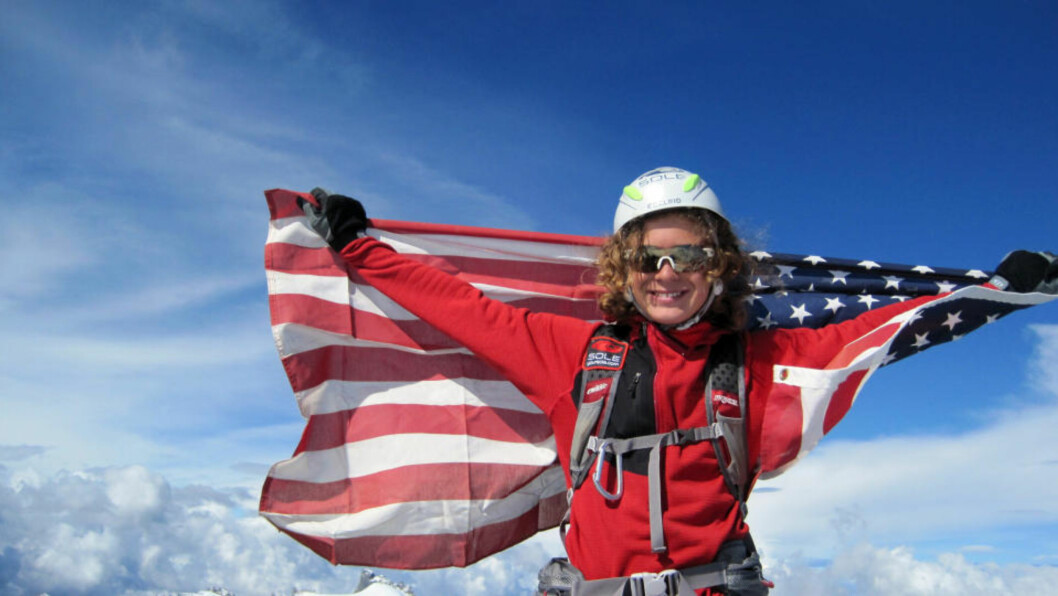 <strong>RUSLA OPP EVEREST:</strong> Dette bildet er tatt på en topptur i fjor. Nå har han besteget selveste Mount Everest som tidenes yngste.  Foto: AP/SCANPIX