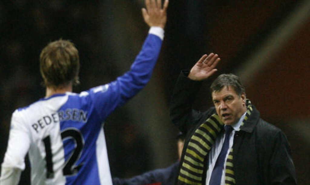 PÅ NETT: Gamst Pedersen spiller gjerne mer sentralt for Blackburn om manager Sam Allardyce gir ham ansvaret. Foto: SCANPIX/AP/Paul Thomas