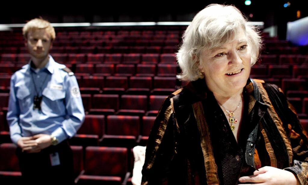 FØLER SEG SJIKANERT: Nina Karin Monsen, avbildet da hun mottok Fritt Ords pris.