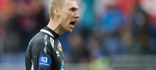 Aalesund-keeper gir seg med fotballen