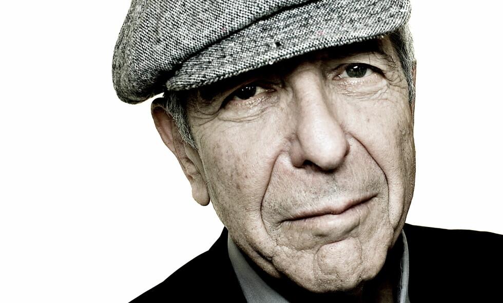 Holdt tett: Mandag døde artisten og poeten Leonard Cohen (82), men nyheten ble først kjent fredag. Slik var livet hans i Norge. Foto: Lars Eivind Bones / Dagbladet