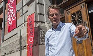DIREKTØR: Nåværende museumsdirektør ved Nasjonalmuseet, Audun Eckhoff. Foto: Arne V. Hoem / Dagbladet