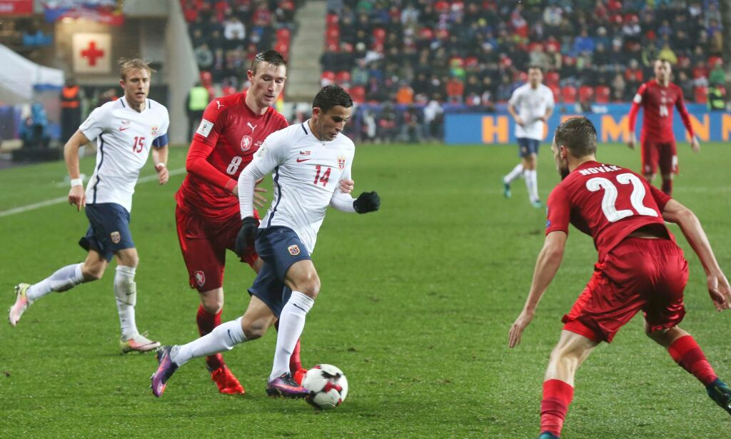 image: Høydepunkter Tsjekkia - Norge (2-1)