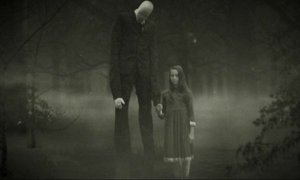 PLAKAT: Slik promoterer HBO dokumentarserien «Beware of the Slenderman». Foto: HBO