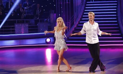 JIVE: Eilev og Nadya i kveldens første dans. Foto: NTB Scanpix