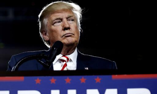 TIL UNNSETNING: Donald Trump. Foto: NTB Scanpix