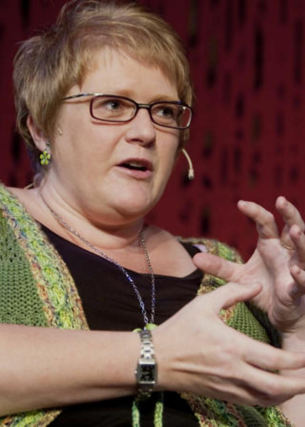 <strong>VIL ØKE STØTTEN:</strong> Venstres nestleder Trine Skei Grande. Foto: Stian Lysberg Solum / SCANPIX