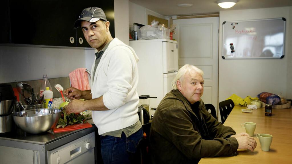 ASYLBOOM: Ronald Tuft tjente i fjor rekordmye penger på å drive asylmottak. Den tidligere asylsøkeren Ferman Abdulla er en av de 1000 ansatte som skaper rekordresultatene. Foto: Tor Erik H. Mathiesen/Dagbladet