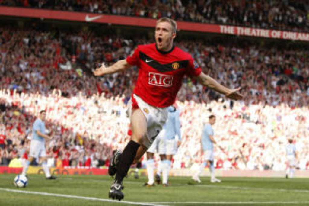 DOBBEL: Darren Fletcher.Foto: SCANPIX/AP Photo/Jon Super