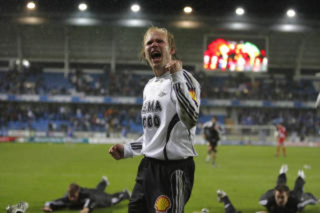 OVERLEGNE: Mikael Dorsins RBK er 17 poeng foran Molde. Foto: Svein Ove Ekornesvåg/SCANPIX