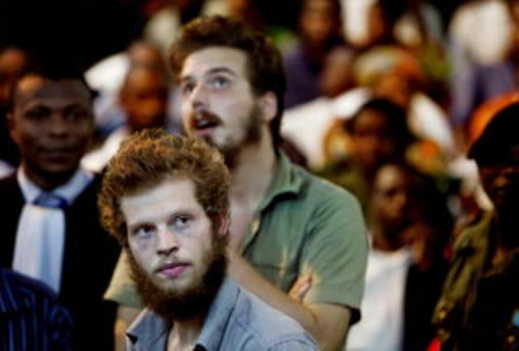 FÅR HJELP: De to drapsdømte i Kongo-saken får fri rettshjelp fra Norge. Foto: Espen Røst