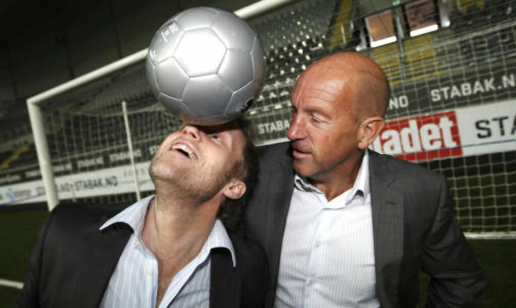 EKS-EKSPERT: Nils Johan Semb forlater Øyvind Alsaker og TV 2 for å bli toppfotballsjef. Foto: Lise Åserud / SCANPIX