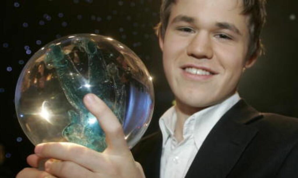IMPONERER SJAKKVERDENEN: Magnus Carlsen klatret to plasser på verdensrankingen da han i natt ble tidenes yngste med over 2800 poeng. Foto: Marius Gulliksrud/STELLA PICTURES