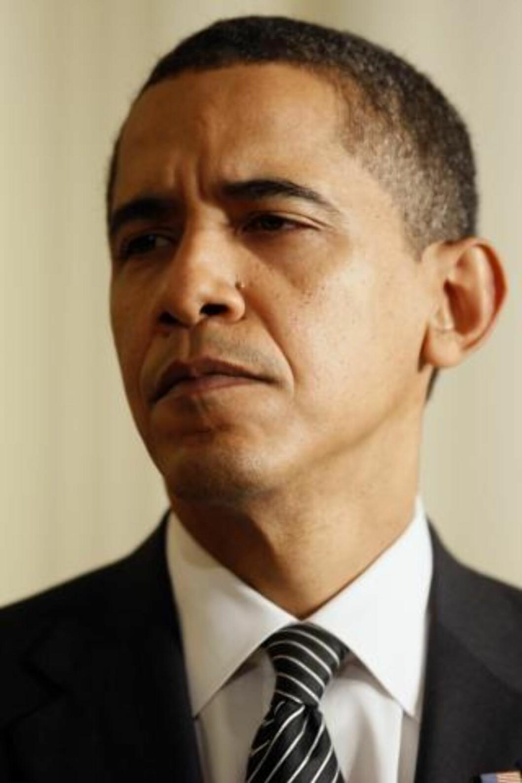 <strong>BEGRUNNELSE:</strong> «Den Norske Nobelkomite har bestemt at Nobels fredspris for 2009 skal tildeles president Barack Obama for hans ekstraordinære innsats for å styrke internasjonalt diplomati og mellomfolkelig samarbeid». Foto: SCANPIX