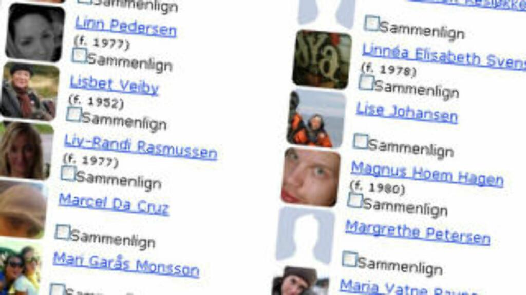 SKATTESØK Nå også med Facebook-integrasjon. Faksimile: DB.no