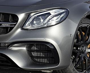Tidenes kraftigste Mercedes E-klasse