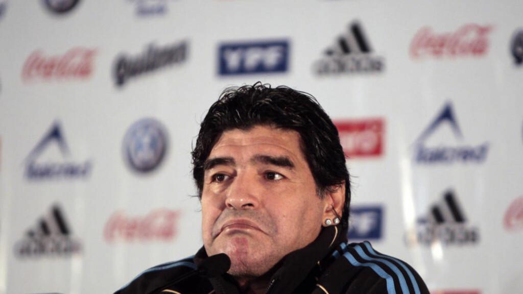 Maradona risikerer VM-utelukkelse - Dagbladet