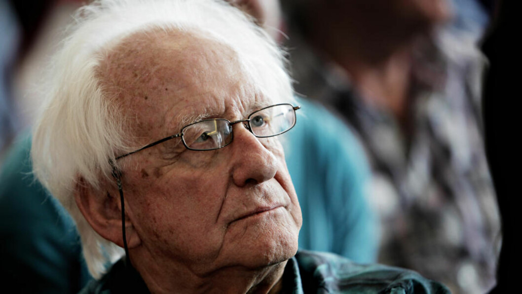 <strong>FREDSFORSKER:</strong> Fredsforsker og professor Johan Galtung har lite til overs for årets fredsprisutdeling. Foto: Lars Eivind Bones/Dagbladet