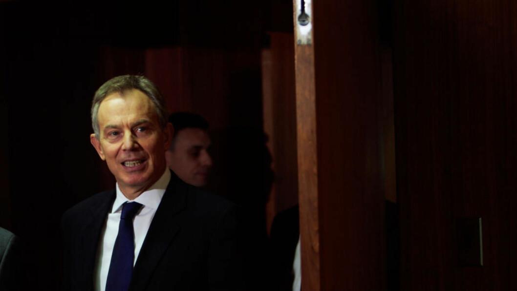 <strong>- RIKTIG AVGJØRELSE:</strong> Britenes tidligere statsminister Tony Blair har uttalt i et intervju med BBC at han ville støttet invasjonen av Irak selv uten at det forelå bevis for at Saddam Hussein hadde masseødeleggelsesvåpen. Foto:Reuters/Scanpix