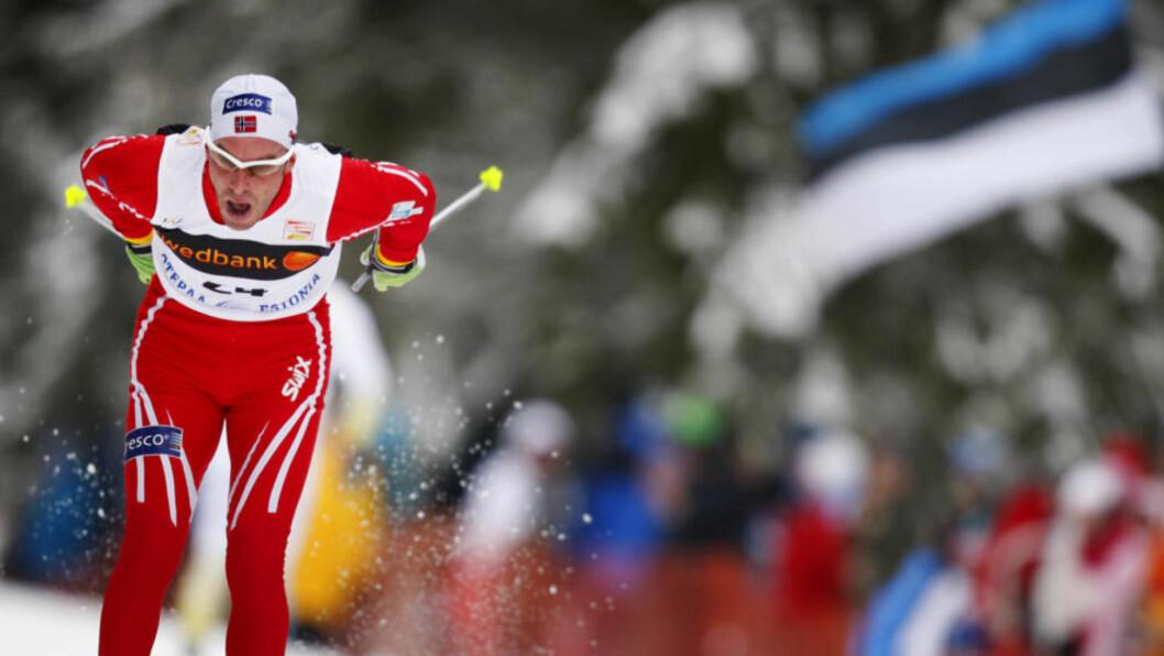<strong>FÅR SJANSEN:</strong> Anders Aukland får gå den viktige tremila i Slovenia søndag, etter at han først fikk beskjed om at han er vraket. Foto: Håkon Mosvold Larsen / SCANPIX