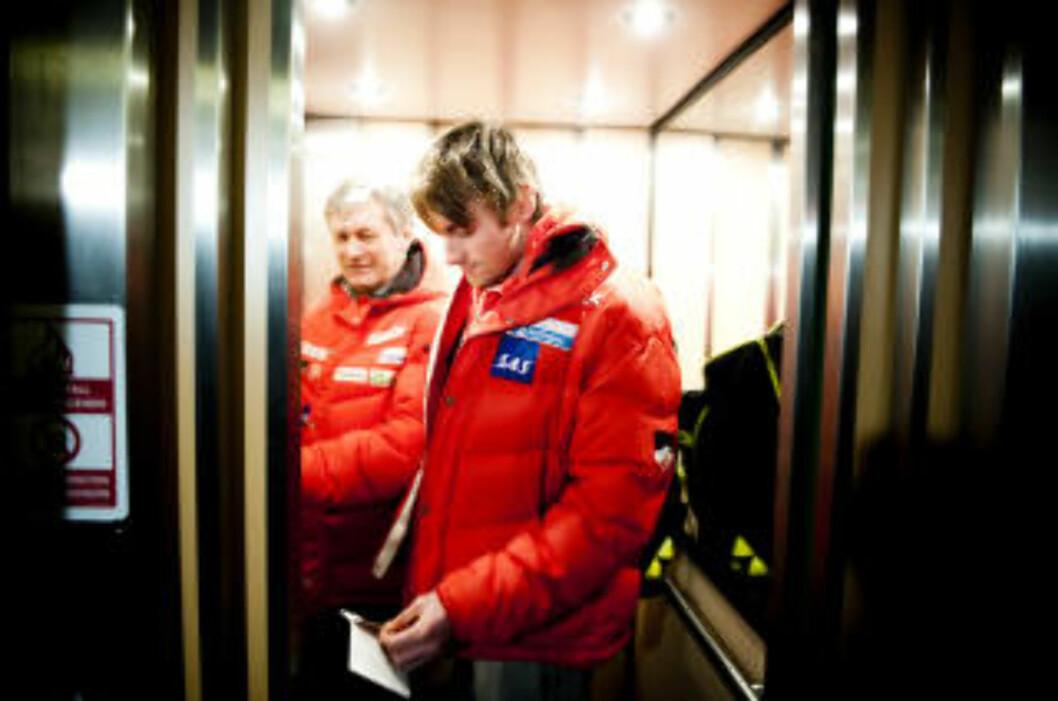 <strong>STOLER PÅ SYKDOM:</strong> Petter Northug nekter å spekulere i hvorfor to russere står av Tour de Ski samtidig, og stoler på at Maxim Vylegzjanin og Alexander Legkov har blitt syke.Foto: Thomas Rasmus Skaug/Dagbladet