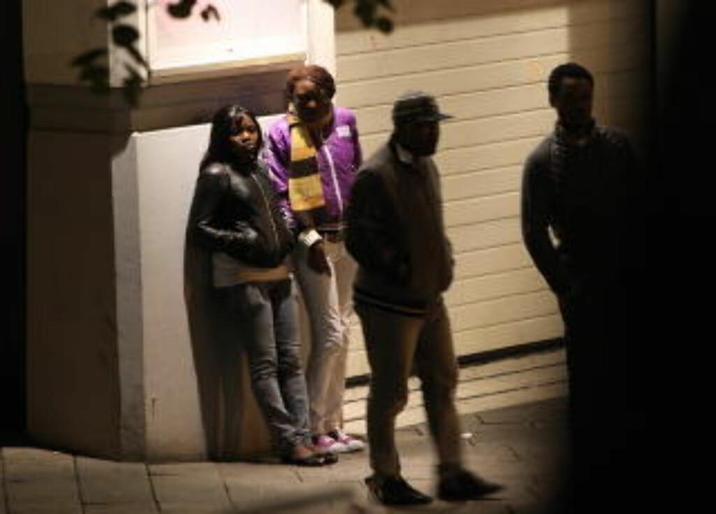 her nå nigerianske prostituerte