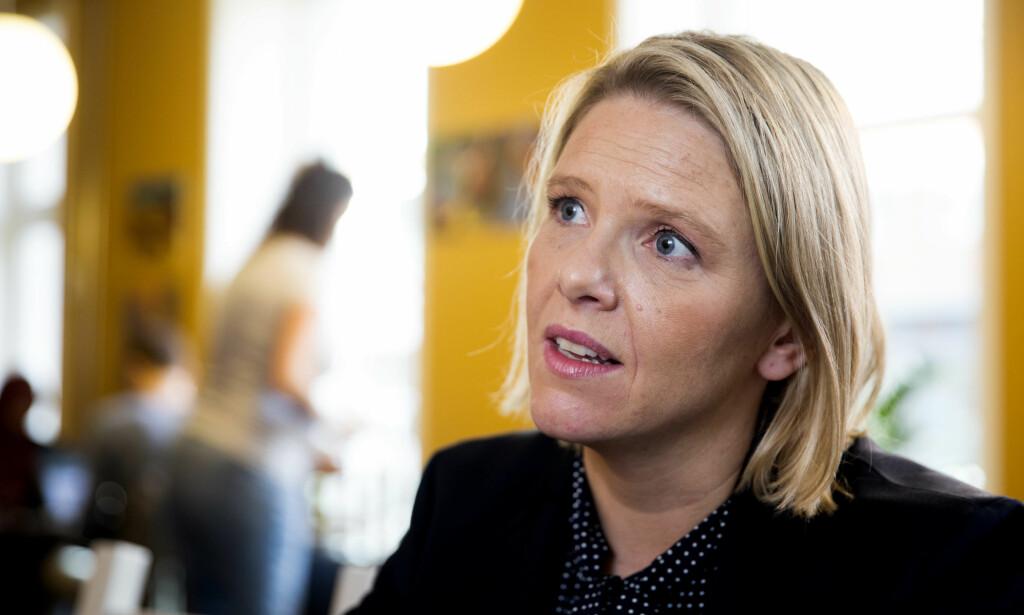 BITT AV BLOGGBASILLEN?: Norges innvandrings- og integreringsminister, Sylvi Listhaug, har begynt å blogge. Foto: Scanpix