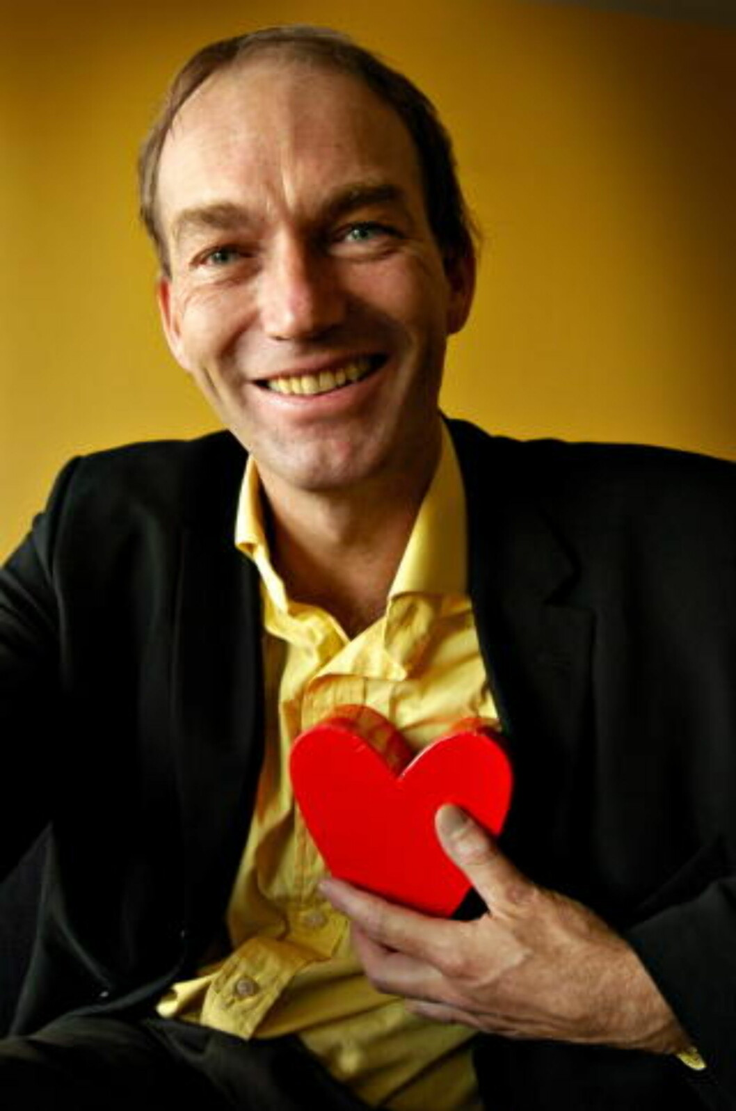 <strong>STARTET QUIZDEBATTEN:</strong>  Sosialantropologiprofessor Thomas Hylland Eriksen. Foto: Lars Eivind Bones
