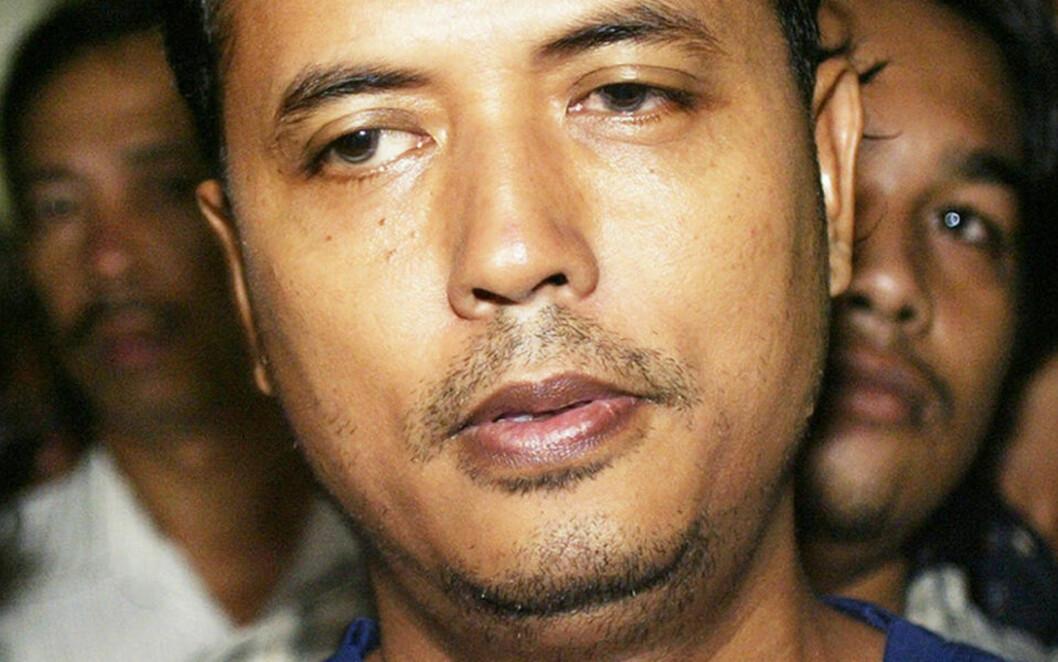 <strong>TERRORTATT:</strong> Islamisten Mas Selamat Kastari ålte seg først ut av et toalettvindu. Deretter ville han styrte et fly inn i en flyplass. Nå er han arrestert i Malaysia. Foto: SCANPIX/AP