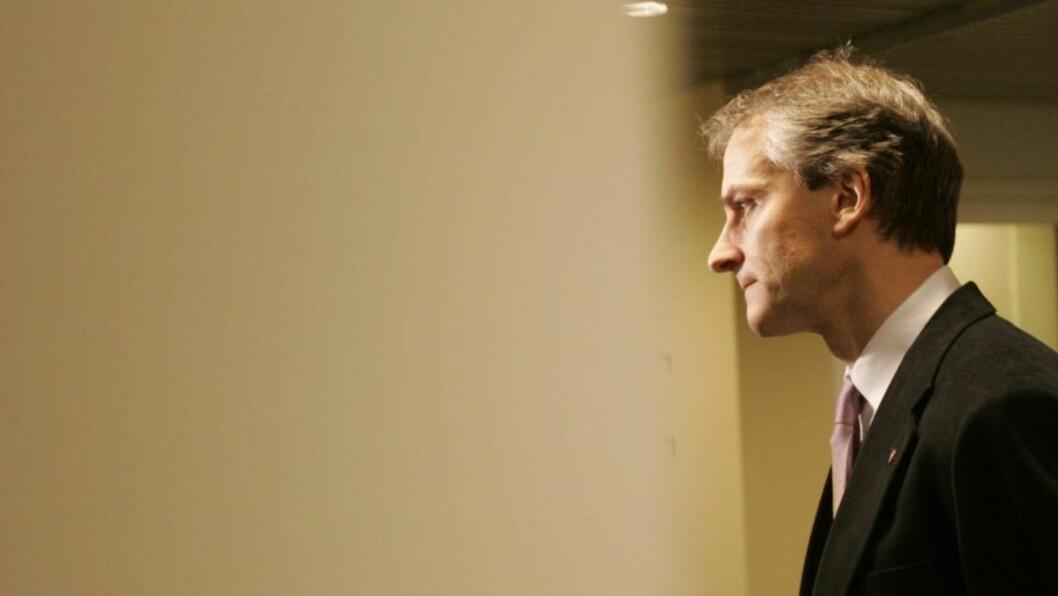 - UAKSEPTABELT: Utenriksminister Jonas Gahr Støre reagerer på at Israel nekter SV-politikere innreise til Gaza. Foto: SCANPIX