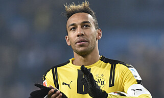 ETTERTRAKTET: Borussia Dortmunds Pierre-Emerick Aubameyang. Foto: REUTERS/Fabian Bimmer