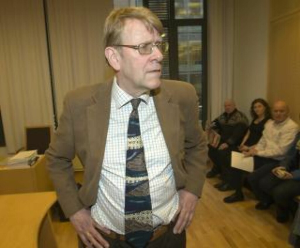 TAPTE I TINGRETTEN: Professor Ståle Eskeland vil ikke forfølge Granly-dommen. - Jeg har aldri ønsket å skade Granly, sier Eskeland til Dagbladet. Foto: Morten Holm / SCANPIX