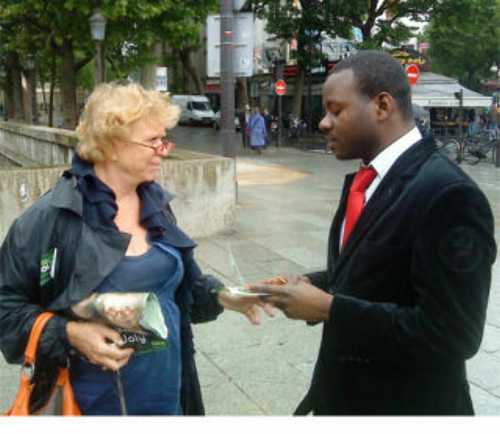 Joly på vei mot EU-parlamentet med «militant» bondeaktivist - Dagbladet